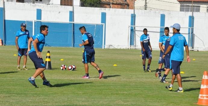 Confiança, treino (Foto: Divulgação/ADC)