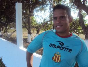 Meia estava no ASA-AL, onde disputou a Série B do Brasileiro (Foto: Afonso Diniz/Globoesporte.com)