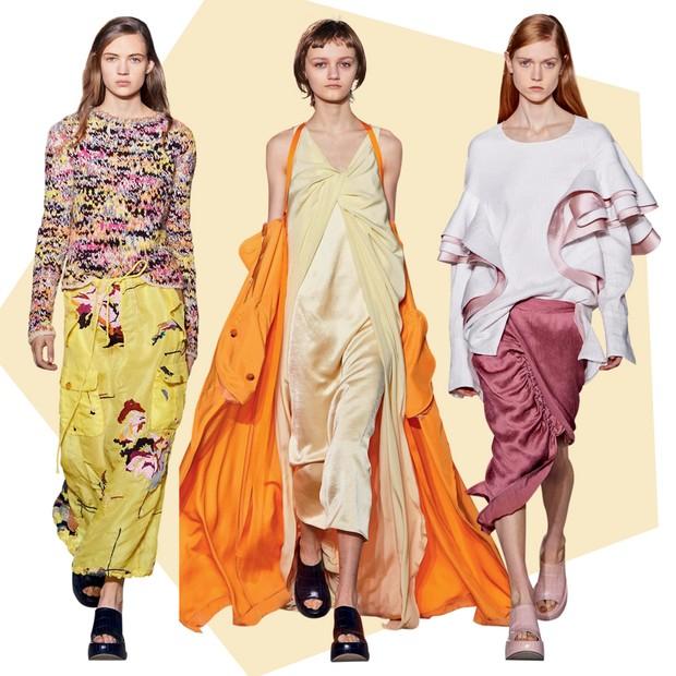 Sies Marjan: Ex-estilista de Dries Van Noten, Sander Lak foi para NY criar a marca de luxo a convite de um fundo de investimento. Mistura o casual com técnicas couture (Foto: Getty Images e Imaxree)