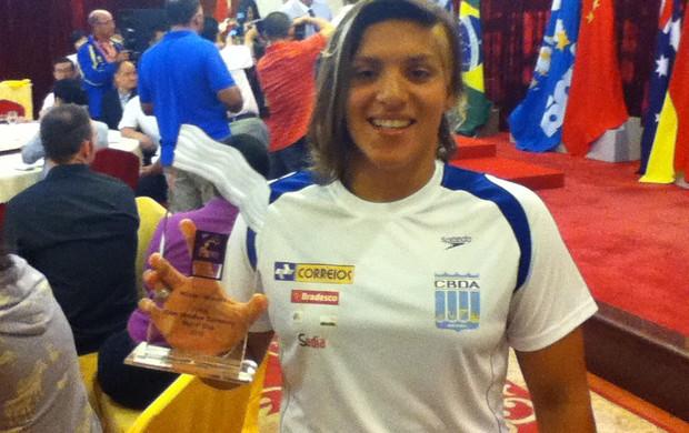 Ana Marcela conquista Circuito da Copa do Mundo de Maratonas Aquáticas (Foto: Divulgação)