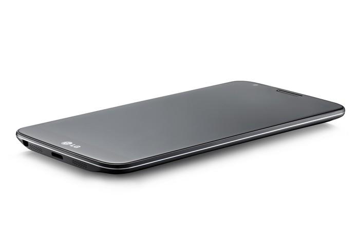 LG G2 possui configurações mais simples e pode ser encontrado por cerca de R$ 1 mil (Foto: Divulgação/LG)