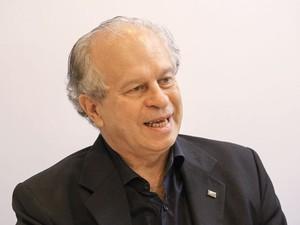 Renato Janine Ribeiro participou de reunião no Instituto Lula, em São Paulo. (Foto: Heinrich Aikawa/Instituto Lula/Divulgação)