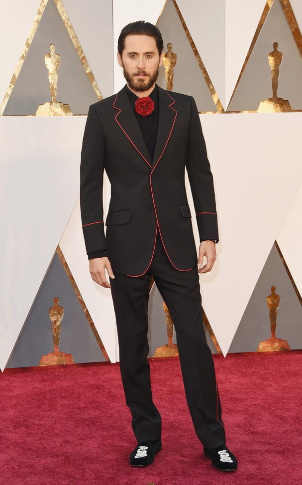 Jared Leto no Oscar 2016 (Foto: Getty Images)