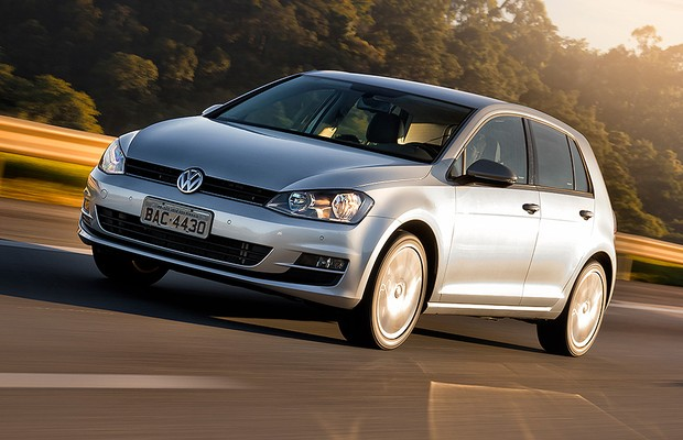 Volkswagen Golf 1.6 MSI manual (Foto: Editora Globo)