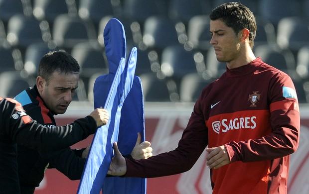 Paulo Bento Cristiano Ronaldo Portugal (Foto: AP)