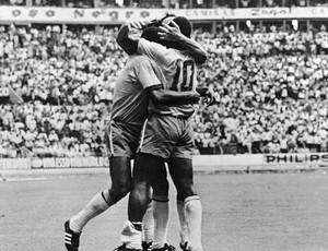 clodoaldo Brasil e Uruguai na Copa de 70