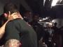 Demi Lovato dá beijinho em Guilherme Bomba após luta nos EUA
