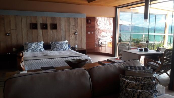 Mistura com Camille Reis visitou resort em SC (Foto: Mistura/RBS TV)