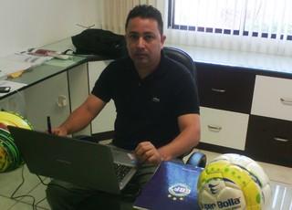 """Waldemir Rosa """"Dadá"""" é o presidente da Federação Maranhense de Futebol de 7 - Fut7 (Foto: João Ricardo/GloboEsporte)"""
