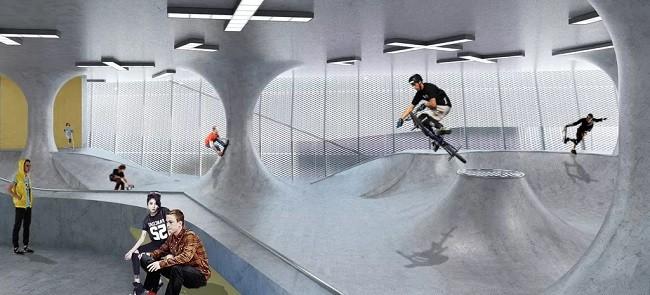 Primeiro prédio de skate no mundo
