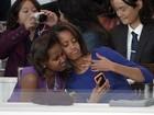 Fotógrafos registram bastidores e cenas curiosas na posse de Obama