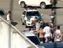 Policial saca arma, mas não contém briga entre torcidas de Linhares e Tiva