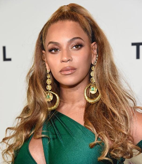 Beyoncé no evento da Tidal (Foto: Instagram/Reprodução)