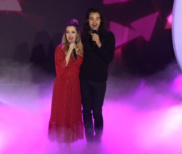 Sandy e Tiago Iorc (Foto: Thiago Duran/AgNews)