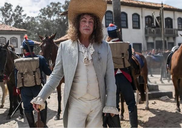 Roberto Cordovani encarna o feitor Sebastião em Novo Mundo (Foto: Raquel Cunha/ TV Globo)