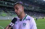 """Rafael Moura sobre o gol impedido do América: """"Acho que eu toquei na bola"""""""