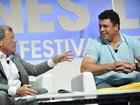 Ronaldo participa de debate em Cannes