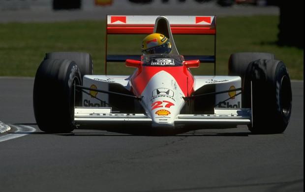 McLaren-Honda de Ayrton Senna (Foto: Agência Getty Images)