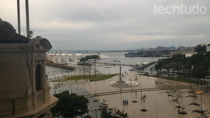Vista da sede do YouTube no Rio de Janeiro (Foto: Melissa Cruz/TechTudo)