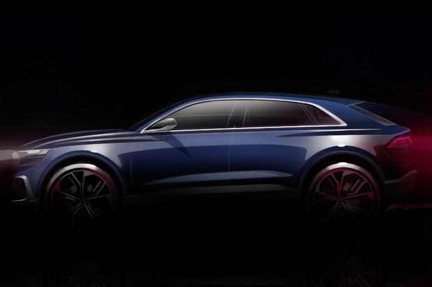 Audi divulga teaser do conceito Q8 (Foto: Divulgação)