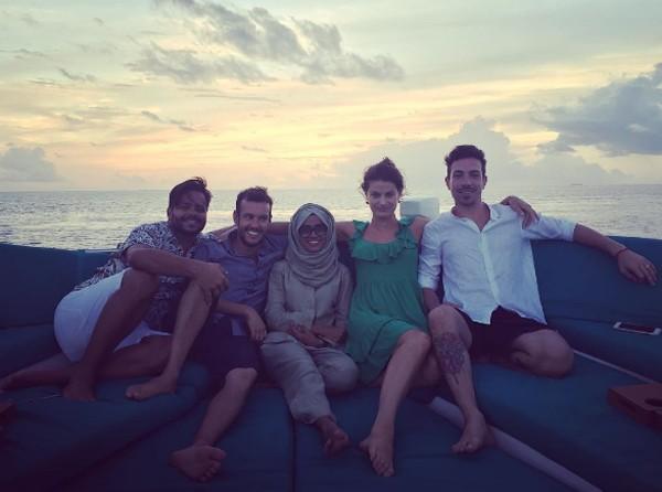 Isabeli Fontana, Di Ferrero e amigos (Foto: Reprodução / Instagram)