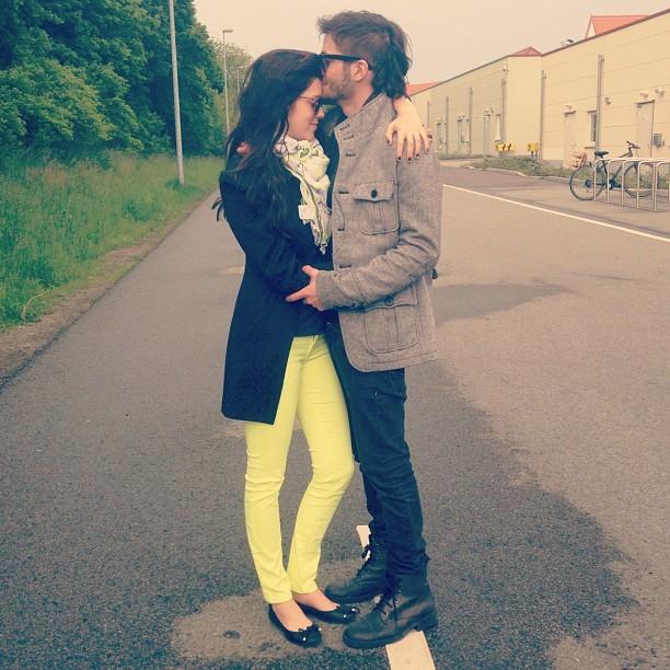 Sophia Abrahão e Fiuk em Berlim, na Alemanha (Foto: Reprodução/Instagram)