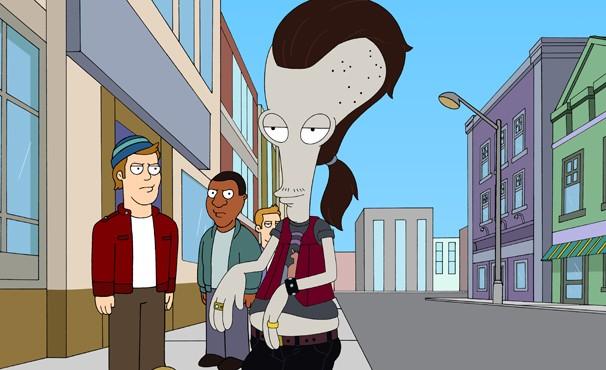 No episódio dessa semana, Roger é Ricky, o cara mais odiado da cidade (Foto: Divulgação / Twentieth Century Fox)