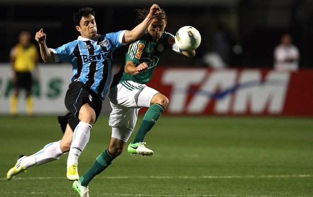 henrique palmeiras kleber gr&#234;mio brasileir&#227;o (Foto: M&#225;rcio Fernandes / Ag&#234;ncia Estado)