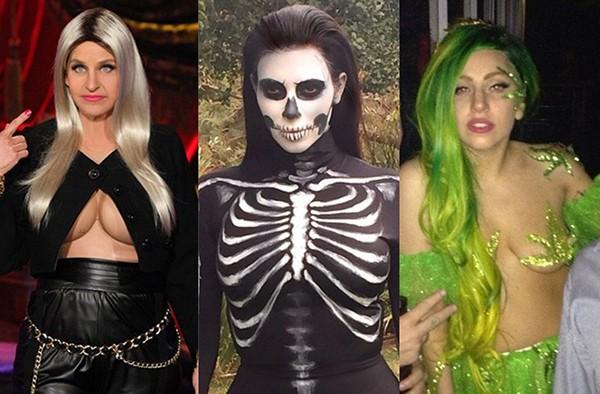 Ellen DeGeneres, Kim Kardashian e Lady Gaga (Foto: Reprodução / Redes Sociais)