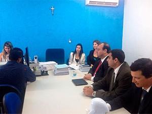 Juíza inicia segundo dia de interrogatórios no caso New Hit (Foto: Divulgação/ Tribunal de Justiça)