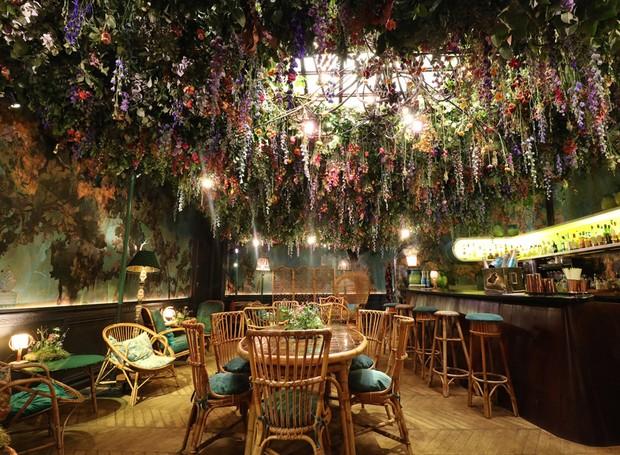 Restaurante-londres-flores (Foto: Reprodução/Dezeen)
