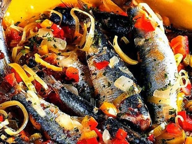 Prato com sardinha, de Cabo Frio, concorre ao prêmio  (Foto: Divulgação)