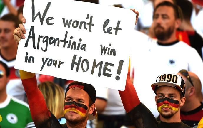 torcida Alemanha final Copa do Mundo (Foto: AFP)