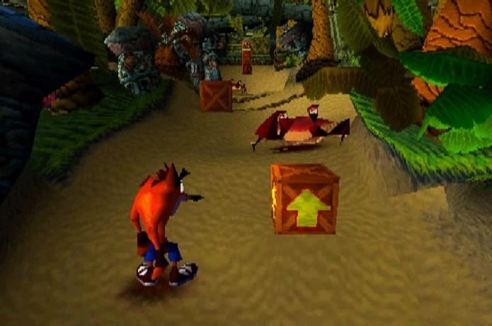 Crash Bandicoot era considerado o mascote do primeiro Playstation. (Foto: Reprodução/gamesdbase)