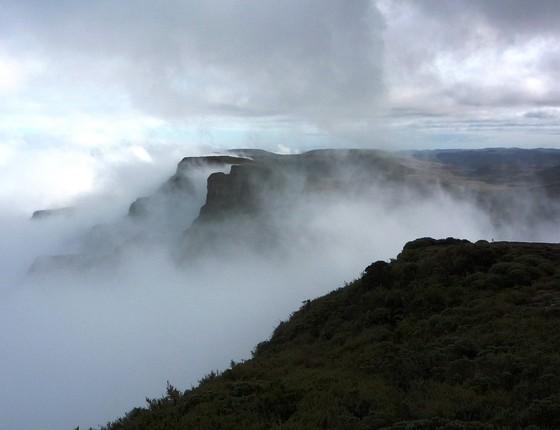 Vista do Parque Nacional de São Joaquim (Foto: Marc Dourojeanni)