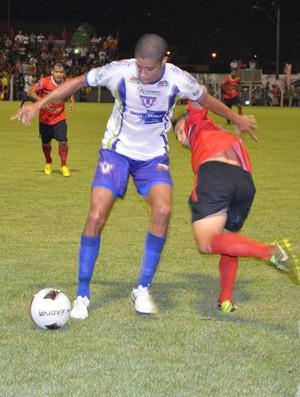 Edson Bahia, lateral-esquerdo do Ariquemes (Foto: Magda Oliveira)