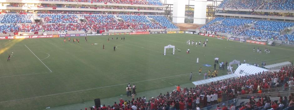 Vasco x Flamengo na Arena Pantanal