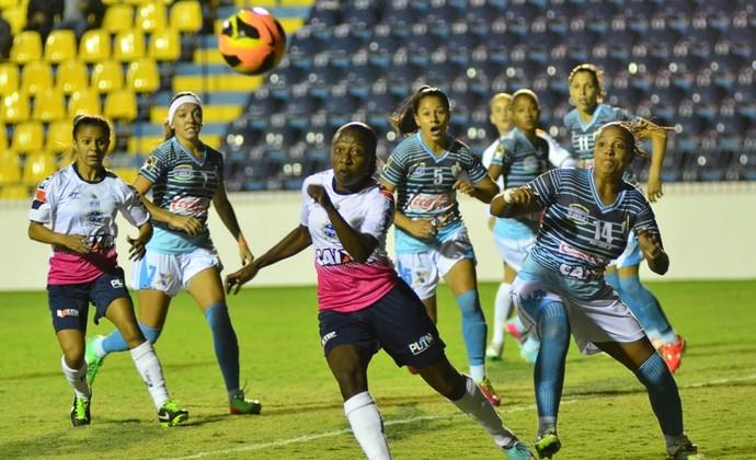 Futebol Feminino São José x Foz do Iguaçu  (Foto: Tião Martins/ PMSJC)