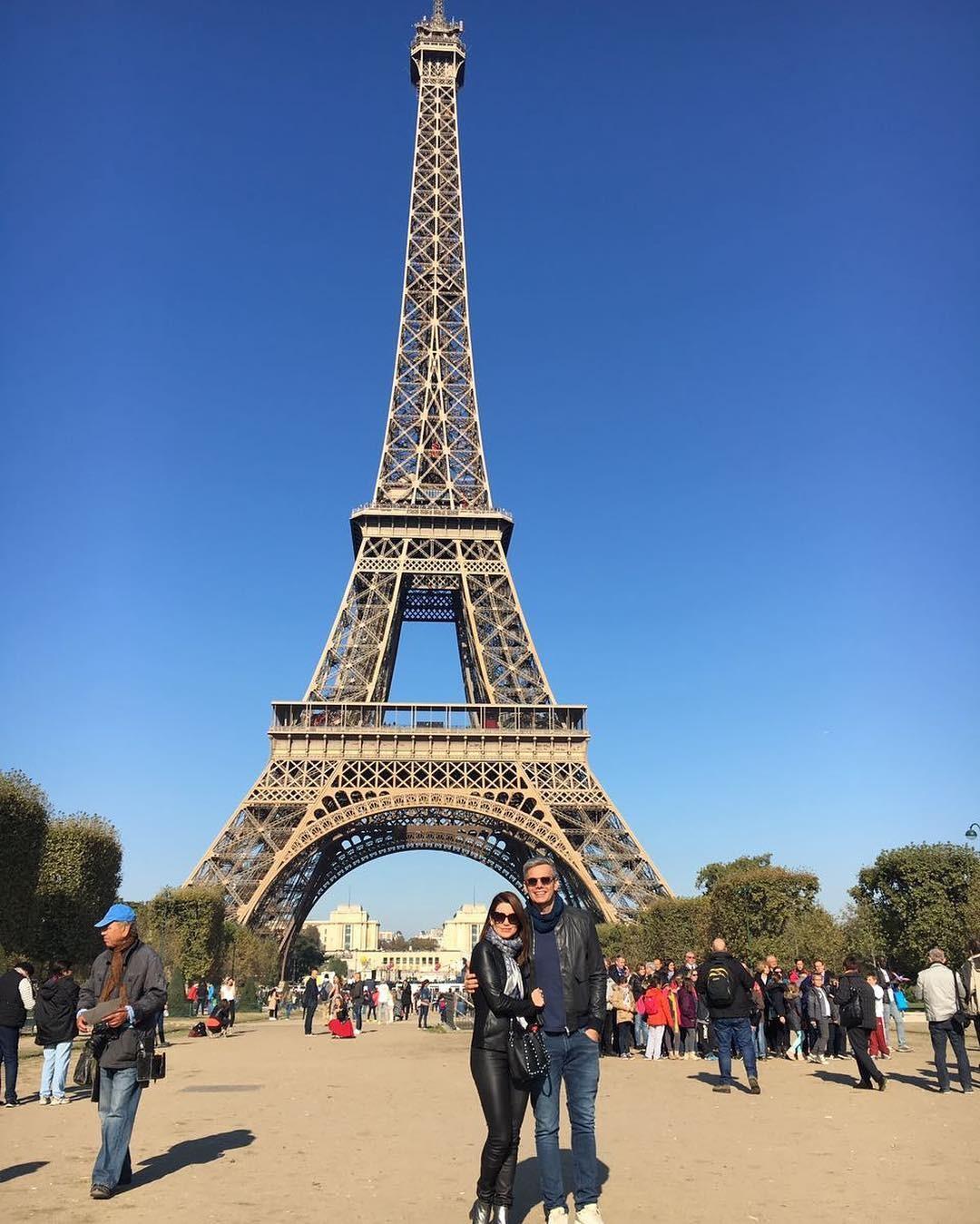 Flavia Alessandra em Paris (Foto: Reprodução/Instagram)
