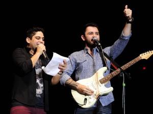Jorge e Mateus se apresentam no palco principal do Planeta Atl‰ântida RS (Foto: Vinícius Costa/Agência Preview)