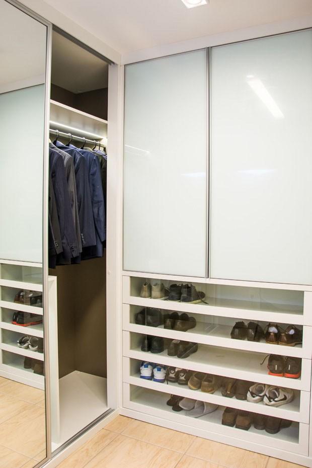 Organização de closets (Foto: Carlos Edler / divulgação)