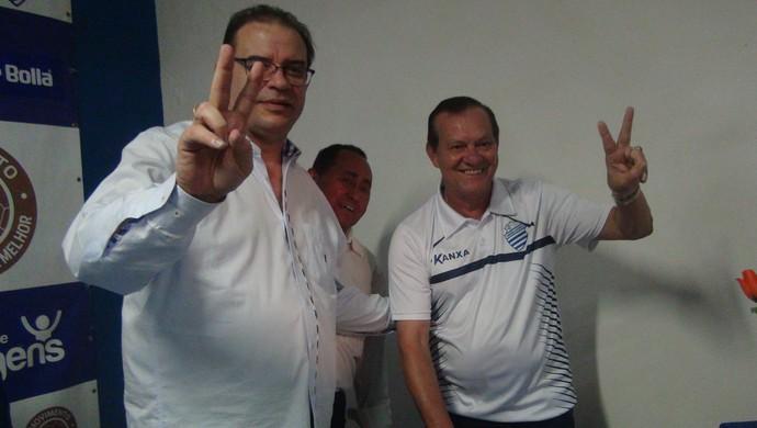 CSA, eleição (Foto: Leonardo Freire)