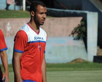 Atacante Willian Dias Grêmio Prudente (Foto: Murilo Rincon / GloboEsporte.com)