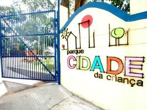 Parque Cidade da Criança está localizado na Avenida André Araújo, bairro Aleixo, Zona Centro-Sul de Manaus (Foto: Ingrid Anne/Manauscult)
