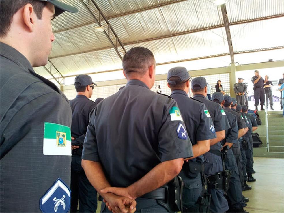 Salários de subtenentes e sargentos da Polícia Militar e Bombeiros Militares do RN devem ser pagos até o último dia de cada mês (Foto: Polícia Militar do RN)