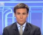 David Pujadas, âncora da France 2, nas eleições de 2002 | Reprodução