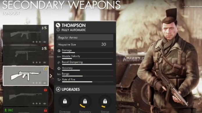 Sniper Elite 4: novas armas custam dólares virtuais (Foto: Reprodução/Thomas Schulze)