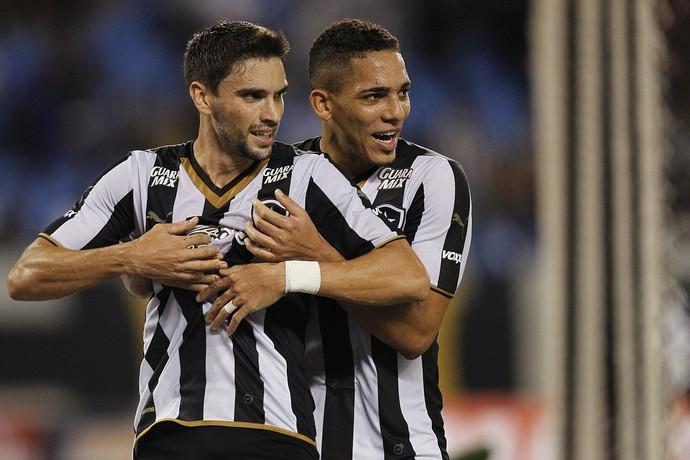 Rodirgo Pimpão e Gilberto Botafogo (Foto: Vitor Silva / SSPress)
