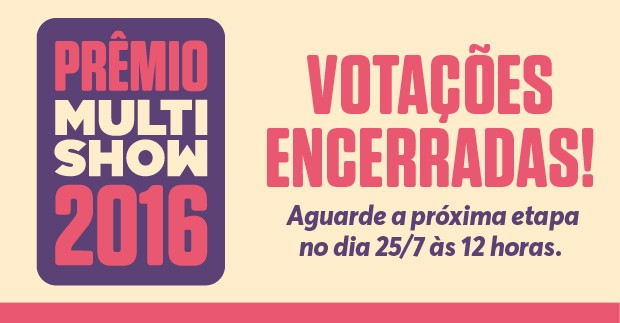 Prmio Multishow 2016 - encerramento