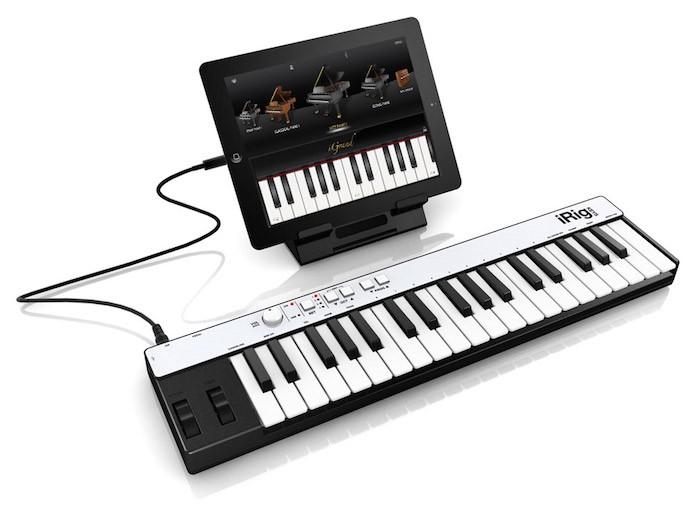 O iRig Keys é uma excelente opção de teclado controlador para iPad (Foto: Divulgação/IK Multimedia) (Foto: O iRig Keys é uma excelente opção de teclado controlador para iPad (Foto: Divulgação/IK Multimedia))